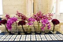Inspiration vintagebröllop rosa/lila/vitt