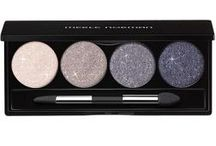 Pro Glitter Eye Palette / This limited edition eye palette contains unique, versatile glitter shades that can be applied damp or dry, and layer beautifully with other shadows. Available in 4 sparkling shades: White Quartz, Moonstone, Smoky Quartz and Purple Sapphire. Includes dual-ended applicator (paddle and taper-shaped).   / by Merle Norman Cosmetics Inc