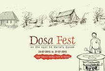 Dosa Fest / Sri Janakiram Hotels Celebrating Dosa Festival with 50 varieties of Dosa.