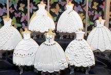 Cookies - Wedding Cookies / Cookies for weddings and bridal showers