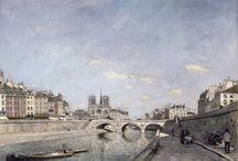Impressionisme ~ Johan Barthold Jongkind / 3 juni 1819 Latrop - (begraven) 7 februari 1891 La-Côte-Saint-André ~ Leerling van Andreas Schelfhout