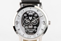 Skull Watches/Clocks!!! / by Sondra Scates