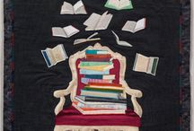 book, quilts / For people who love books and quilts!