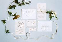 Wedding in Blue Moodboard