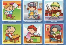 Thema beroepen kleuters / Occupations theme for preschool / thème professions pour la maternelle / Thema beroepen voor kleuters, lessen en knutselen / Occupations theme for preschool, lessons and crafts / thème professions pour la maternelle