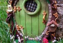 my Fairy doors