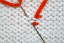 Knit tips and tricks