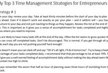 Time Management / Squeezing 61 minutes