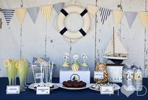 Navy baby shower