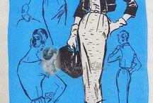 Мода 50-х