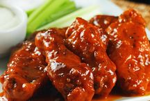 """Game Day Wings / Need more recipes? Check out all our FOOTBALL GAME DAY FOOD boards: -->> """"Game Day Food"""", """"Game Day Snacks & Sweets"""", """"Game Day Drinks"""", """"Game Day Wings"""", """"Football Cakes & Baking Ideas"""". / by PatsGurls for New England Patriots"""