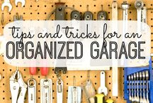 Your Garage / Garage organisation. Tips and interesting things to do with your garage #mygarage
