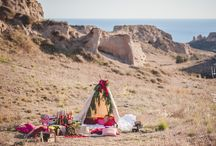 Bohemian Photoshoot in Santorini- Wedding Planner-Soul Events Santorini