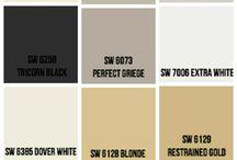 Popular paint colours