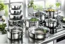 Cookware Set Pans Stainless Steel