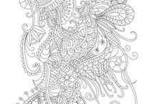 Adult Coloring / Adult Coloring for Relaxation, Fun, and Stress Relief