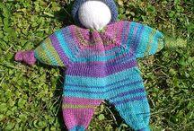 knit soft doll