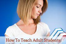 Adult teaching