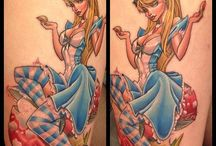 fairytale pin up tattoo inspiration