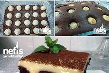 Pasta, kek ve kurabiye