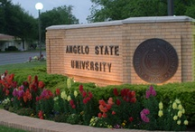 Angelo State University / Angelo State University, a member of the Texas Tech University System, delivers undergraduate and graduate programs in the liberal arts, sciences, and professional disciplines. In a learning-centered environment distinguished by its integration of teaching, research, creative endeavor, service, and co-curricular experiences, ASU prepares students to be responsible citizens and to have productive careers.  / by Angelo State University Alumni Association