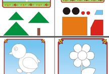 puzzle and matching activities 2-3 years