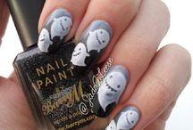Nails - Halloween.:)