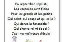 Maternelle comptines