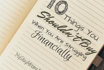 Finance & Frugal Living / Want to be good stewards of your money? This board is filled with tips and resources to help you save money and increase your income.