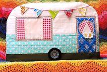 Caravan sewing machine cover