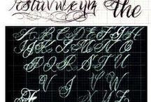 Spanish Script Tattoos