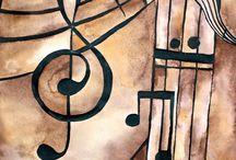 Hudba v malbě