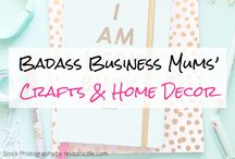 Crafts & Home Decor (Group Board) / Craft Ideas and inspiration posts, arty handmade Gift tutorials and clever Home Decor tips and and guides (No pinning of other people's products). If you would like to contribute, please follow me (@badassbizmums) and email your request to laura(at)badassbusinessmums(dot)com with your Pinterest profile :)