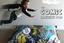 The Mini Beanz Comic Collection / Our latest collection based on the wonderful world of comic books and superheros!