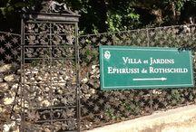 Villa Ephrussi de Rothschild / Découvrez la Villa Ephrussi de Rothschild, un des monuments les plus visités de la Côte d'Azur ! Discover one of the most visited monument of the French Riviera - Villa Ephrussi de Rothschild