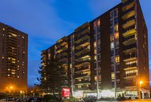 Brittany Apartments / Brittany Apartments is in a great East Ottawa location, and offers outstanding value in comfort and convenience. Choose from our classic or upgraded suites!  Selected suites feature new ceramic tile and new countertops in the kitchen and bathroom. Heat, hydro and water are included in the rent.You can enjoy the outdoor pool and take advantage of the residents lounge. There's also a convenience store onsite