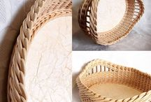 Paper decorations / paper baskets, quilling