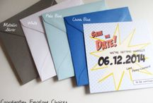 Save the dates, invitatons