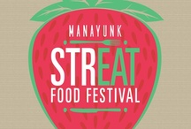 Spring Manayunk StrEAT Food Festival / That's right!  StrEAT Food Festival will now happen TWICE a year!  Join us for the Spring Manayunk StrEAT Food Festival on Saturday, April 13 2013. Philadelphia Food Trucks, Gourmet Food Vendors, Food Related Crafts, Restaurant and Shopping Tours