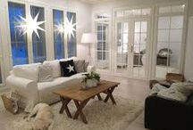 Home sweet home / Country style, romantic, white on white, decoration, beautiful life!