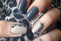 nails pantera i zebra