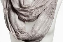 Scarves/leg warmers / by Rachel Stevens