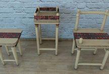 Pre-colimbian Furniture / Diseño precolombino