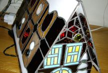 Stained glass kerst / Kerst