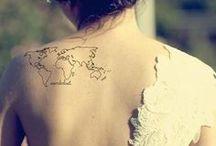 Tatuagem de viagem / Inspiração para encher o corpo todo...
