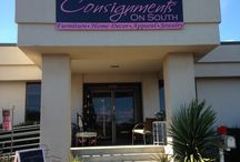 Find great gifts for everyone at Consignments on South! / With new stuff coming in everyday you are sure to find something great with every visit to Consignments on South!  We carry Home Decor, Furniture, Apparel and Accessories!  And to top it all off, we even offer custom painting services!