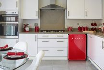 Retro stylish fridges / Stunning, beautiful, statement Retro styled fridges