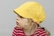 Summer Hats / Summer hats made of recycled materials
