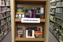 YTC Library Displays / The rotating displays of the YTC Library!