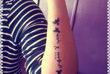 Mis tatoos  / Arte